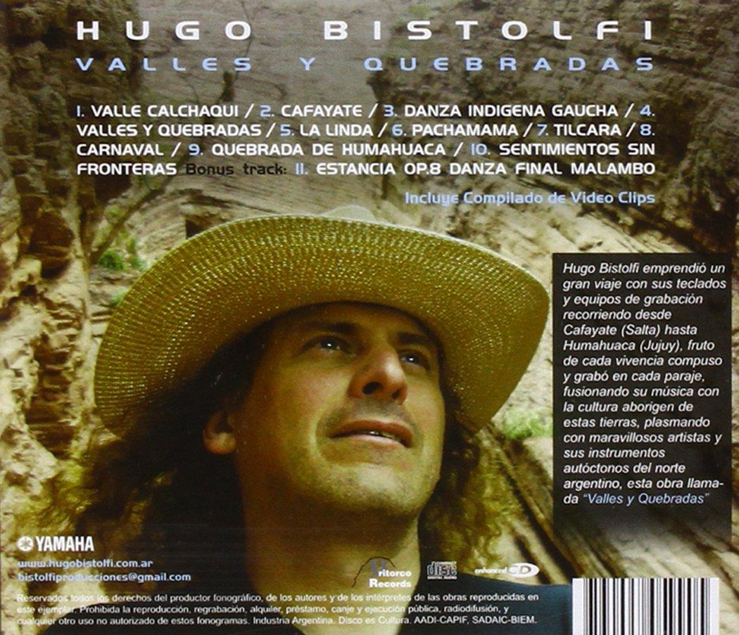 Valles Y Quebradas: Hugo Bistolfi: Amazon.es: Música