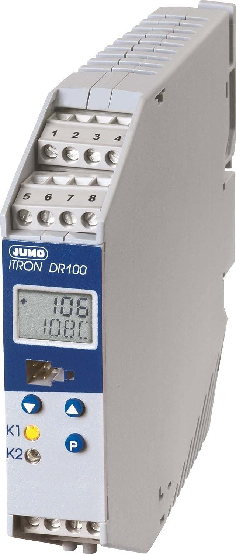 Controlador de microprocesador Jumo 702060 iTRON DR 100 termostato ...