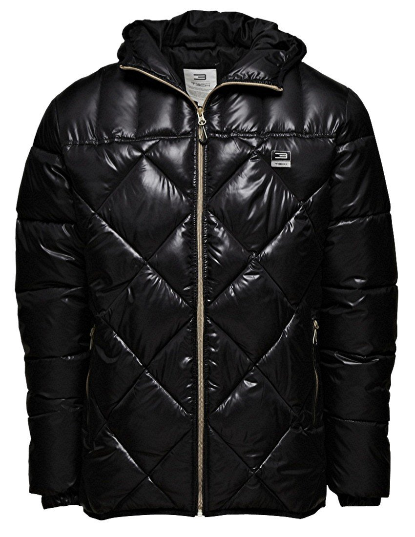 Jack & Jones Herren Daunenjacke Grape Jacket Daunen Black Jacke