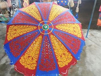 Modern Art Garden Umbrella