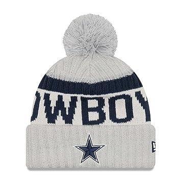 138b2f729d4 New Era Dallas Cowboys 2017 Sport NFL Knit Hat REVERSE  Amazon.co.uk   Sports   Outdoors