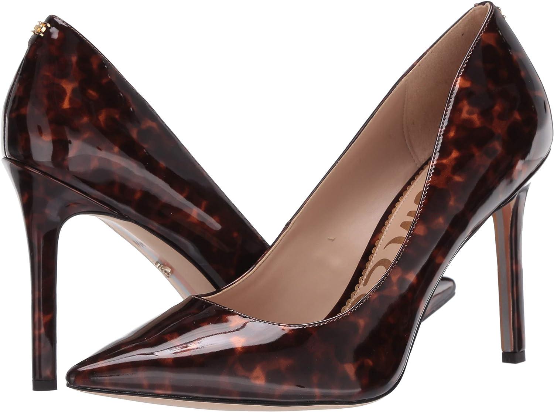 Sam Edelman Womens Hazel Pump 8.5 Black//Brown