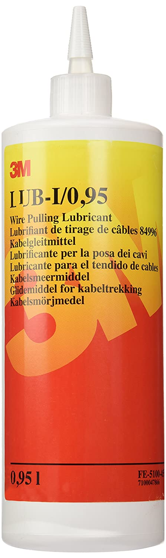 3M FE510045597 Scotch LUB-I Lubricante para el Tendido de Cables, 0,95 litros, 1 botella 3M Deutschland GmbH (IBG) (EU)