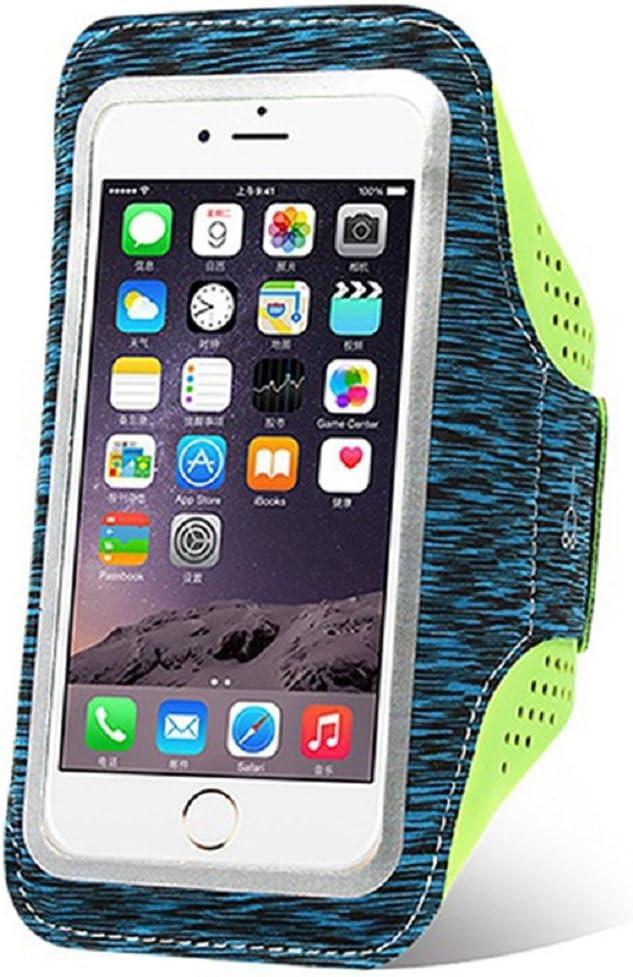 GYM Soporte de teléfono para brazo, banda de brazo de teléfono, brazalete para correr, iPhone 7