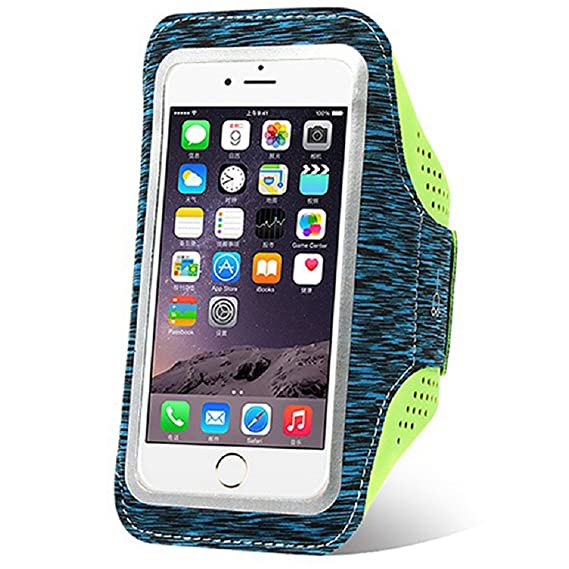 buy online 104b6 be99c GYM Phone Holder for Arm,Phone Arm Band Running Armband,iPhone 7 Plus  Armband iPhone Arm Case for iPhone 8 Plus/6S Plus/6 Plus,Cell Phone Arm  Holder ...