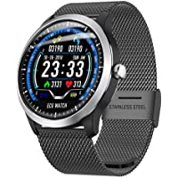 niyin204 Fitness Smart Watch ECG with Heart Rate Blood Pressure Oxygen Monitor, IP67Smart Bracelet Pedometer