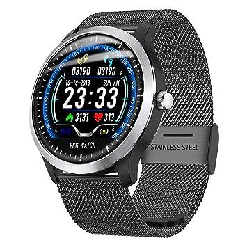 ... Sport Reloj IP67 Smart Pulsera con + electrocardiogramas PPG electrocardiogramas HRV de Informe de frecuencia cardíaca Tensiómetro de Prueba: Amazon.es: ...