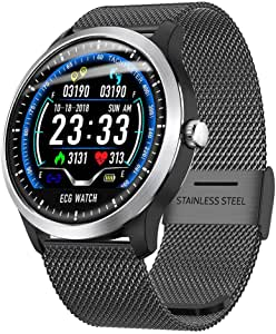 H-sunshy N58 Smart Watch Reloj Deportivo ECG + PPG ECG HRV Informe ...