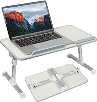 Portable Standing Desk Foldable Sofa Breakfast Table Adjustable Laptop Bed Tray