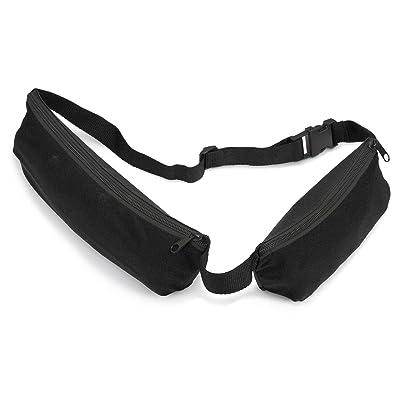 Étui de ceinture avec 2poches Noir Lot de 5
