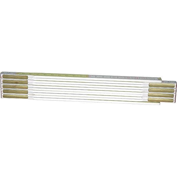 KS Tools 300.0060 Metro plegable de madera amarillo m/étrica 2m