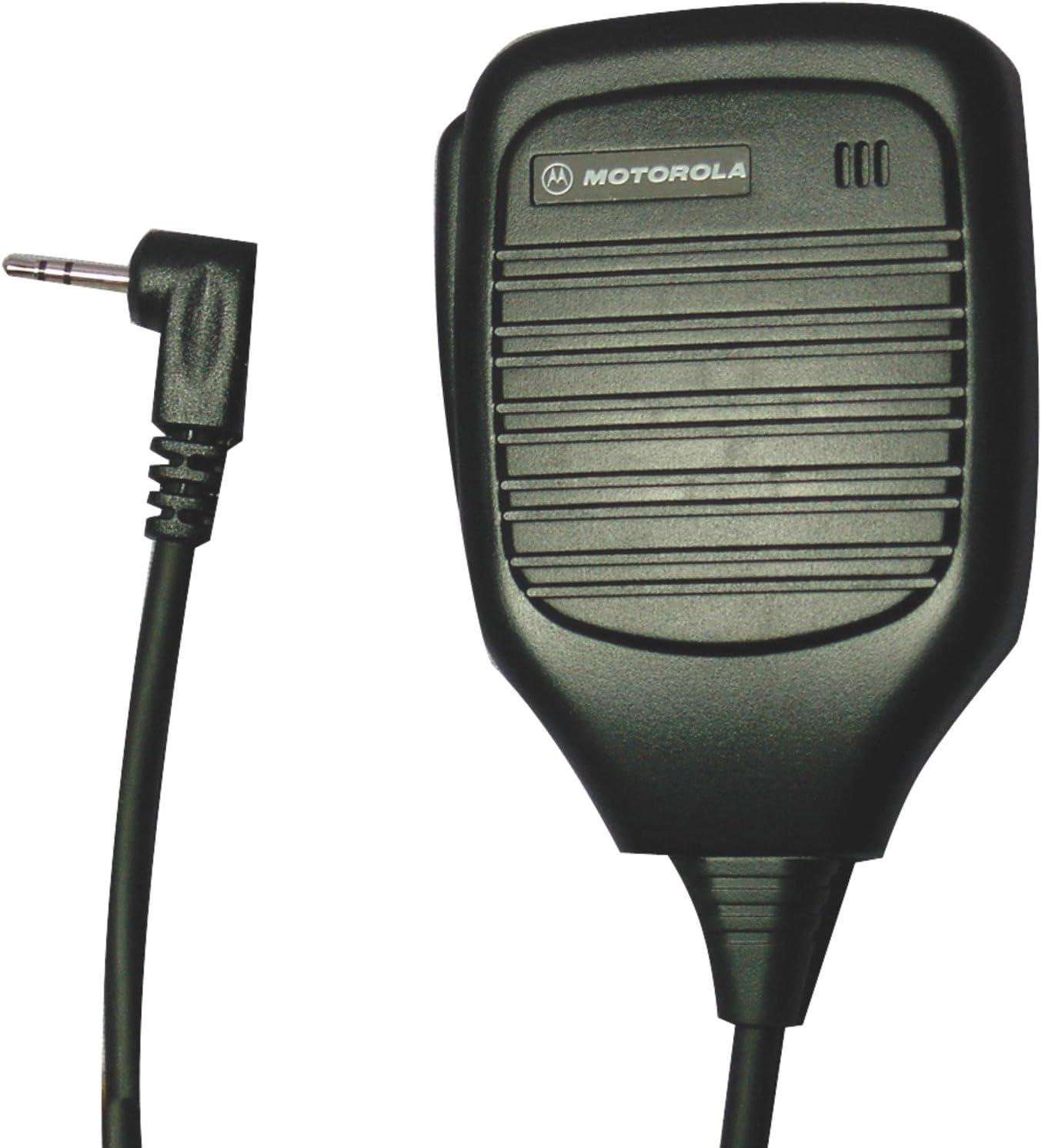 B00000JD34 Motorola 53724 Remote Speaker Microphone (Black) 711Vk-lH8QL