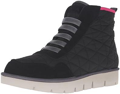 MIA Women's Terran Fashion Sneaker, Black, ...