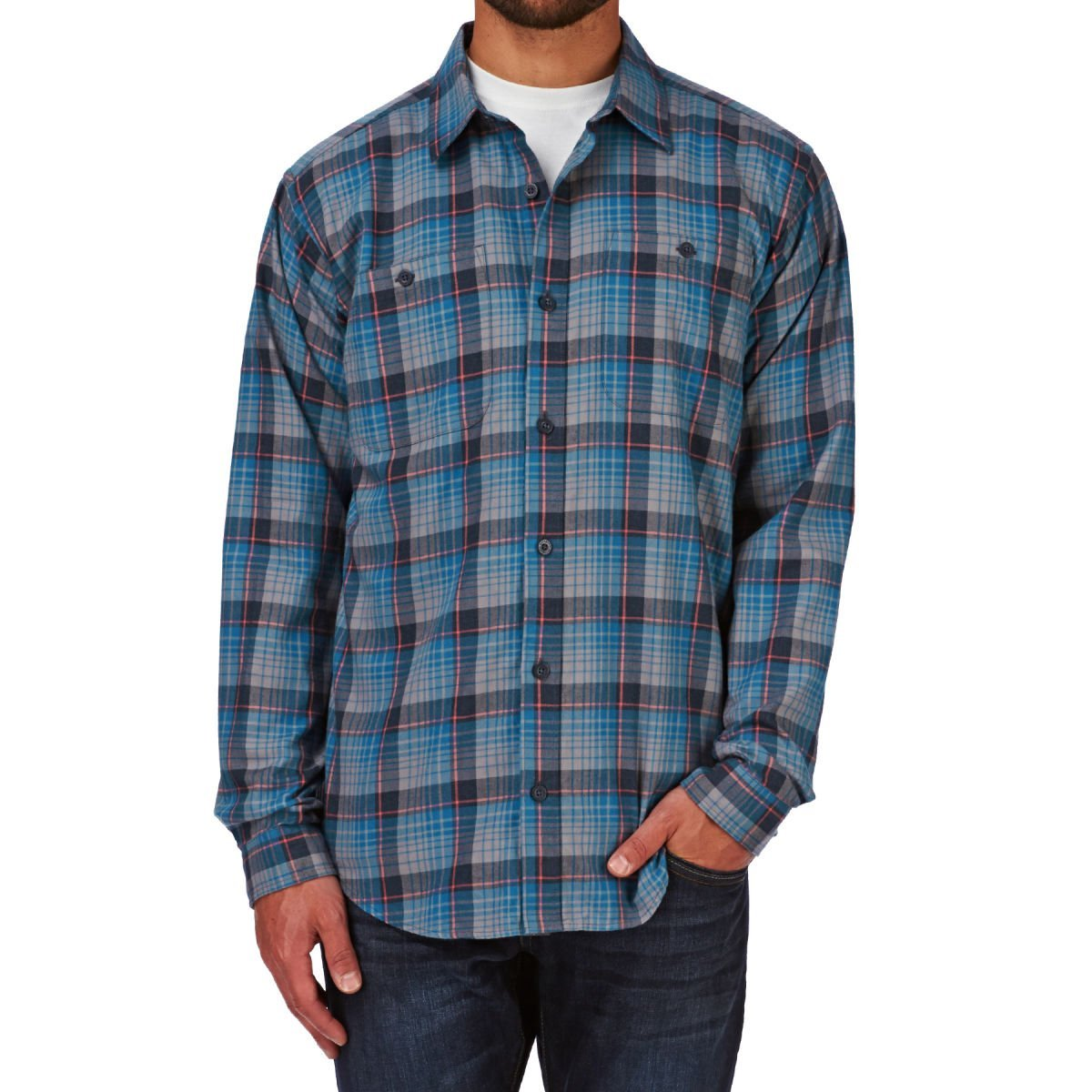 Patagonia M´s L/S Pima Cotton Shirt