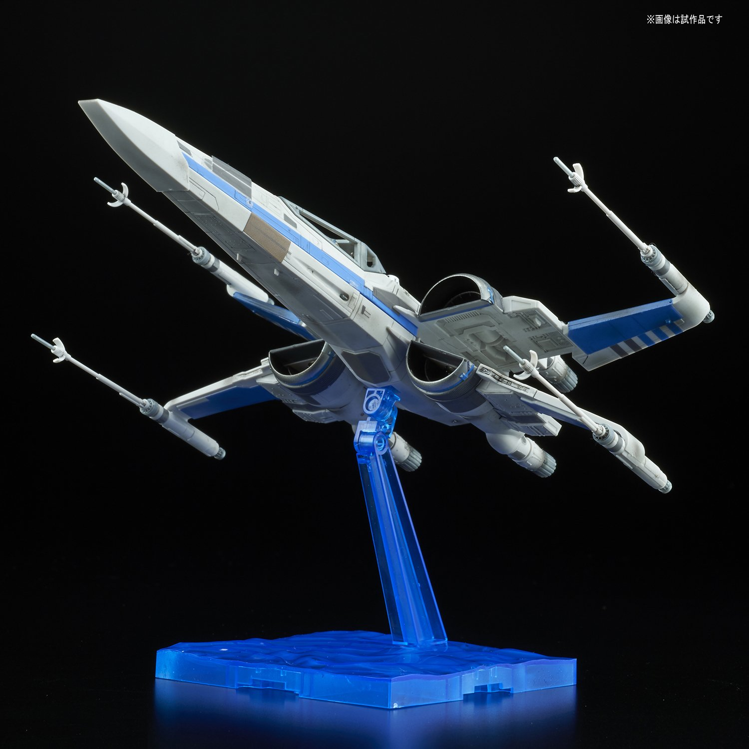The Last Jedi Bandai 1//72 X Wing Fighter RESISTANCE BLUE Company Specification Star Wars Episode 8