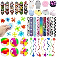 Fun Party Favor Toy Assortment 48 Pack, Party Favors for Kids, Bulk Toys, Birthday Party Toys, Carnival Prizes, Pinata…