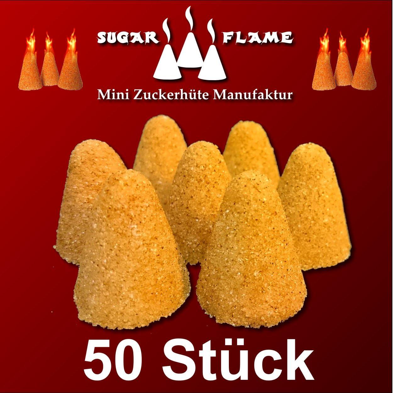 50 pieza Mini Conos Azúcar y Canela Fuego Alicate Ponche ...
