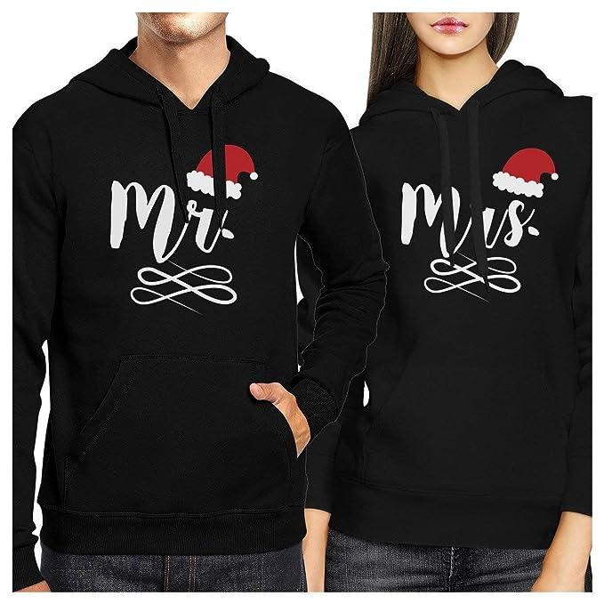 Amazon.com: Cute X-Mas Couple Hoodies - Beauty and Beast Winter Edition Matching Sweatshirts: Clothing