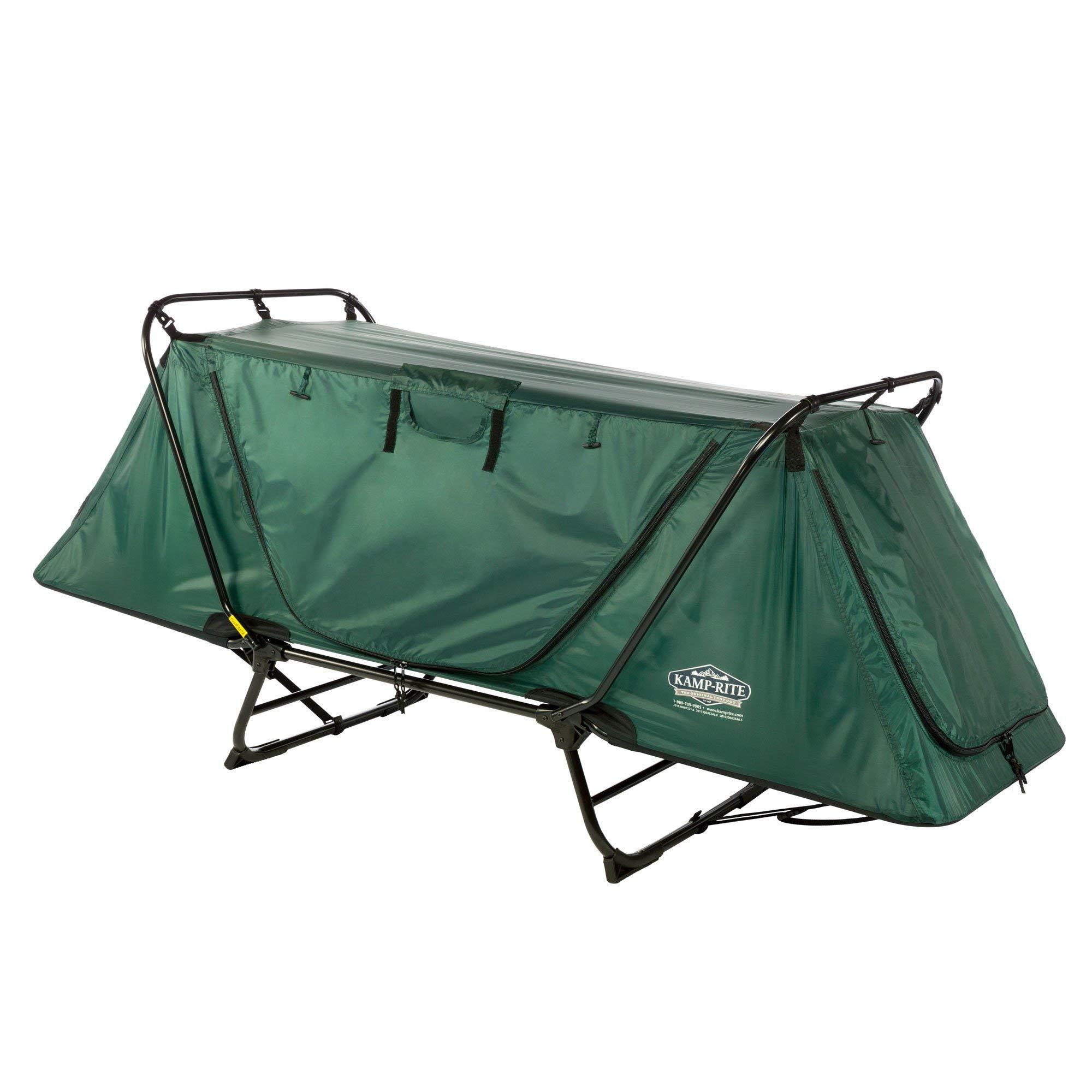 Kamp-Rite Tent Cot Original Size Tent Cot (Green) by Kamp-Rite