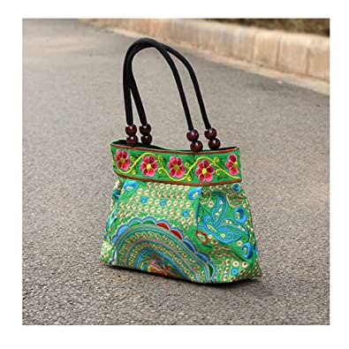 0058978aee Yunnan National Style Embroidery Handbag Woman's Small Square Bag ...