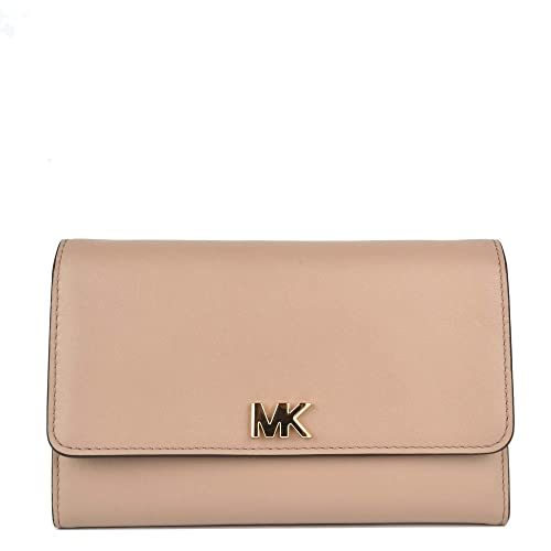 MICHAEL by Michael Kors Money Pieces Portafolio de Cuero Truffle Mujer Truffle uni: Amazon.es: Zapatos y complementos
