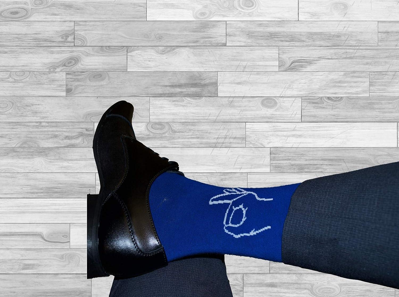 Fun Dank Meme Socks Groomsmen Novelty Dress Socks Casual Cotton Crew Socks Circle Game Gotcha Funny Meme
