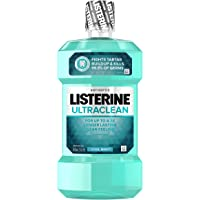 Listerine Ultraclean Oral Care Antiseptic Mouthwash with Everfresh Technology to Help Fight Bad Breath, Gingivitis…