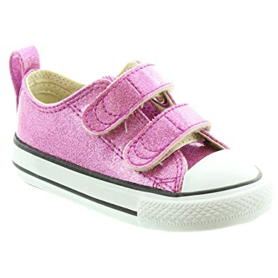 Converse - Kids Glitter Velcro Shoes in Pink  Amazon.co.uk  Shoes   Bags 93b67fcd859c
