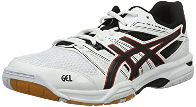 624ca41b57d3 ASICS Gel-Rocket 7, Chaussures de Volleyball Homme, Blanc (White/Black