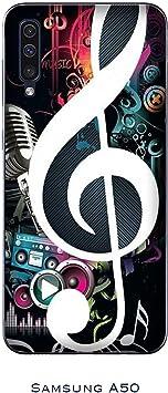 Funda Galaxy A50 Carcasa Samsung Galaxy A50 música Clave de ...