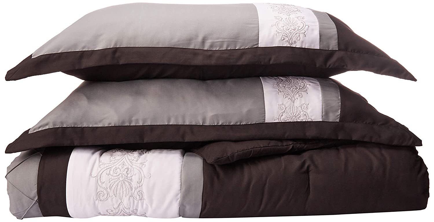 0b44c0034540c Chic Home 8-Piece Embroidery Comforter Set