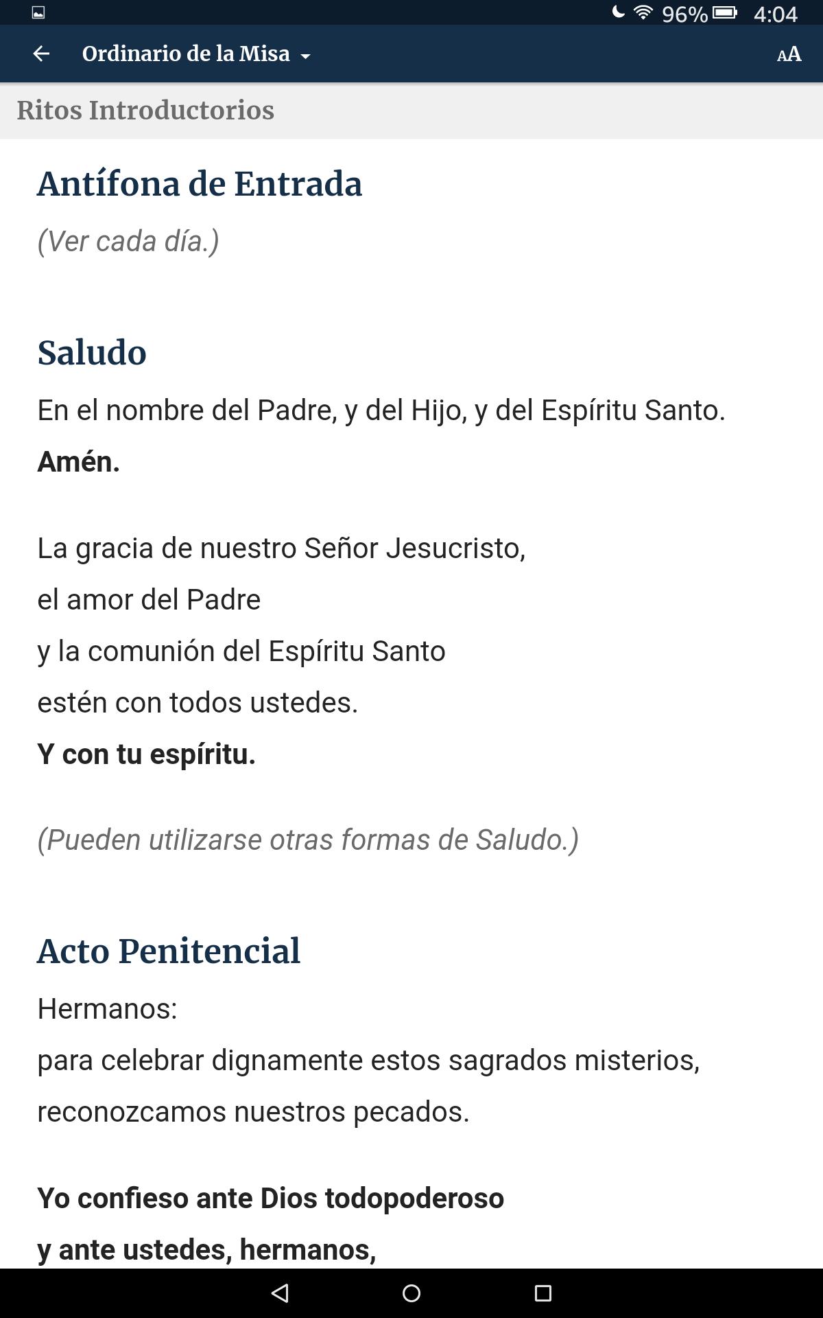 La Palabra Entre Nosotros App– Lecturas de la Misa: Amazon