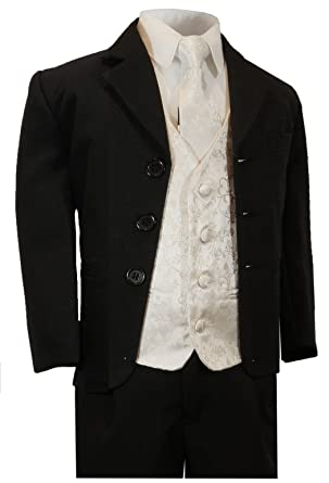 Paul Malone Boy Suits - Traje - Básico - para niño negro negro 16 ...