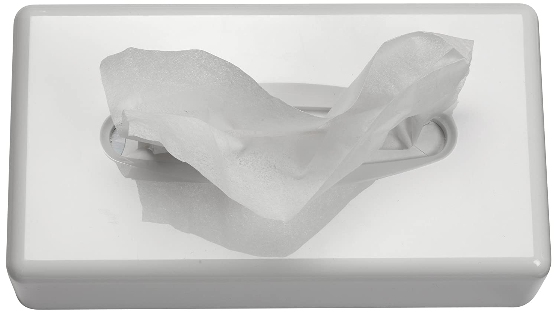 Funny AG-687 - Dispensador de pañuelos de papel, 255 x 130 x 70 mm, color blanco: Amazon.es: Industria, empresas y ciencia