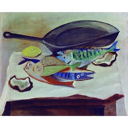 Nature Morte aux Poissons, Pablo Picasso - Medici Print: Amazon.co ...