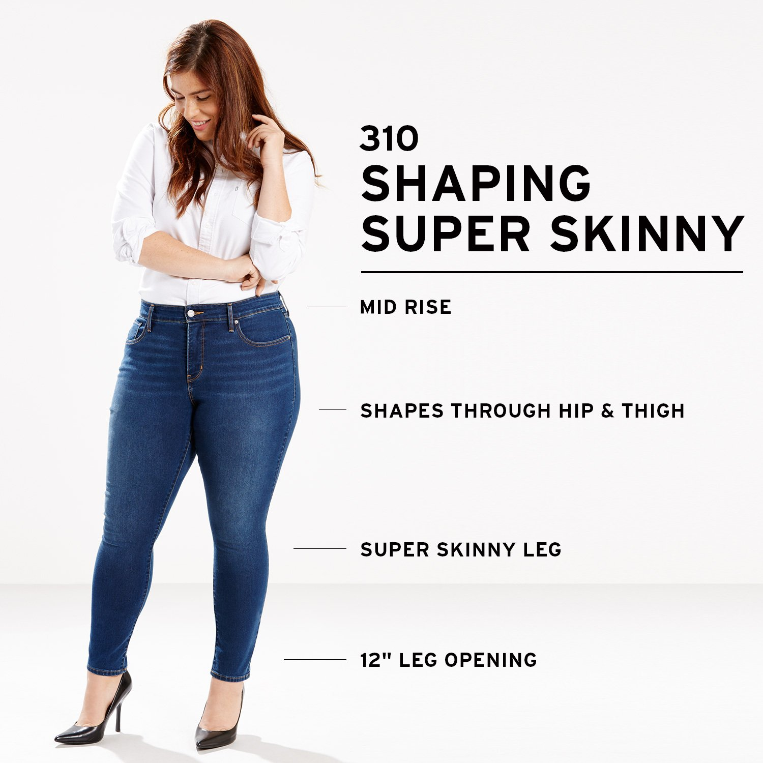 f8f45d49bdd Levi s Women s Plus Size 310 Shaping Super Skinny Jeans at Amazon Women s  Jeans store