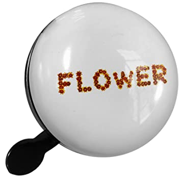 Amazon Neonblond Small Bike Bell Flower Red Yellow Flowers
