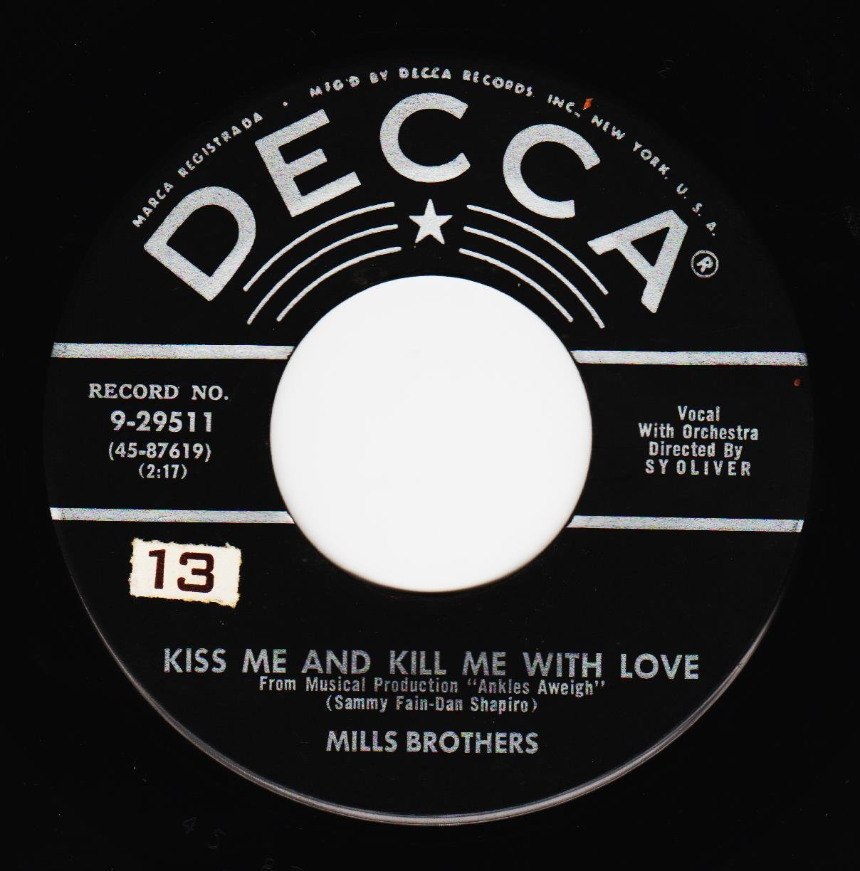 Amazon.com: Smack Dab In The Middle/Kiss Me And Kill Me With ...