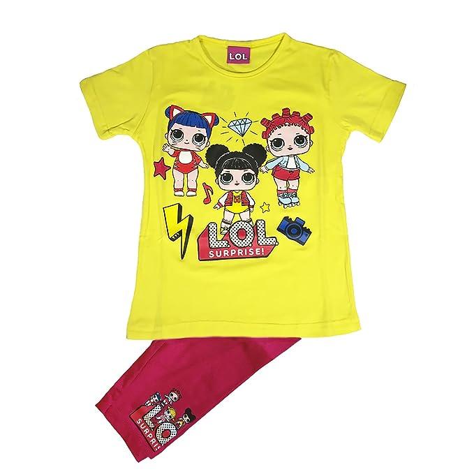Lol Surprise Chándal - para niña amarillo 6 años: Amazon.es: Ropa y accesorios