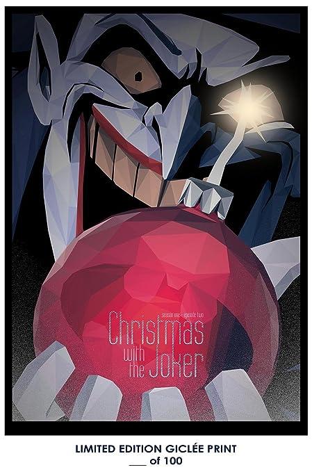 rare poster thick batman the animated series season 1 episode 2 christmas with the joker - Batman The Animated Series Christmas With The Joker