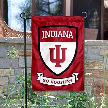"Indiana University Hoosiers Garden Flag NCAA Double Sided 12.5/"" x 18/"""