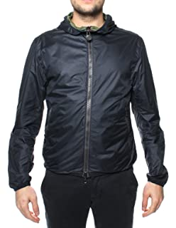 COLMAR Herren Wattierte Biker Jacke Grau Polyester Jacke