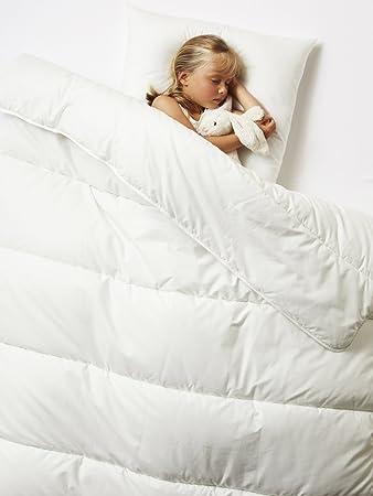 Vertbaudet Bio Bettdecke Für Kinder Weiß Größe 75x120 Amazonde Baby