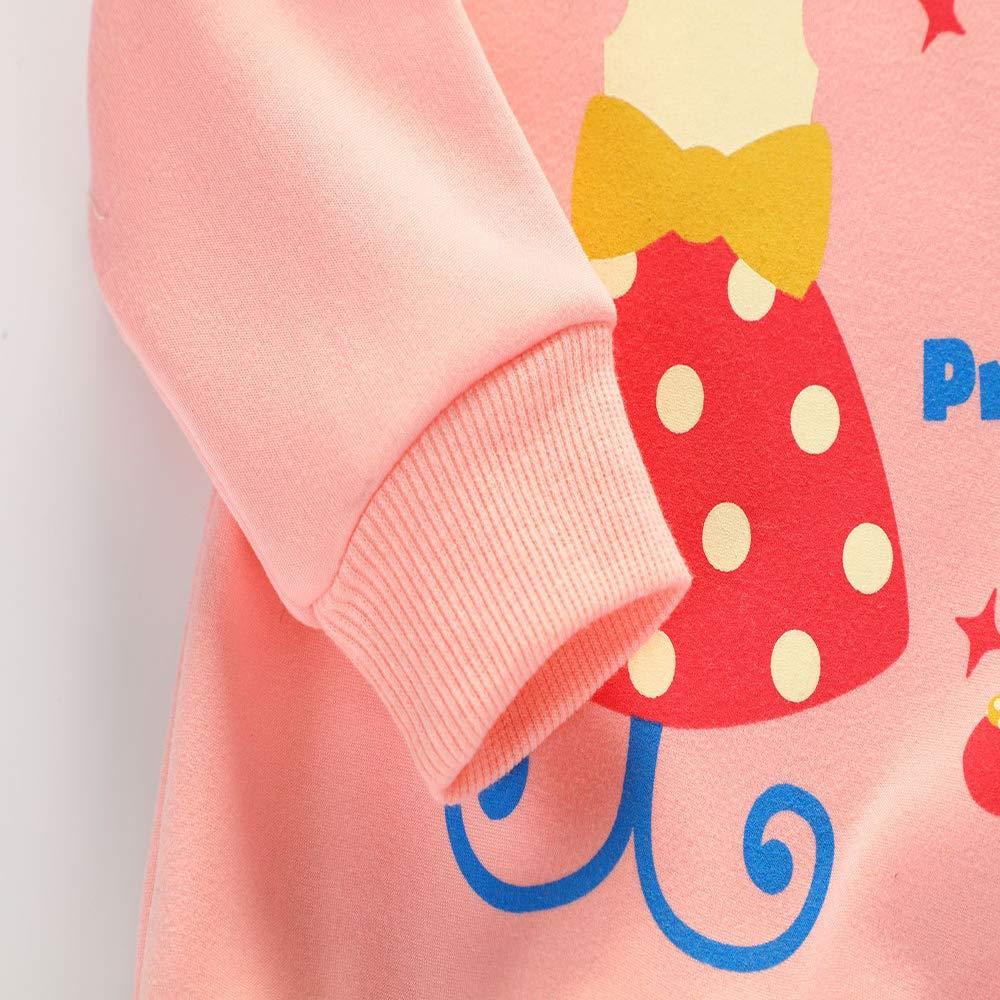 Kinder Pullover M/ädchen Heavy Blend Crewneck 3D Bedruckte Sweatshirt Unisex Sweat Langarm Sport T-Shirt Pull Winter Alter 1-3