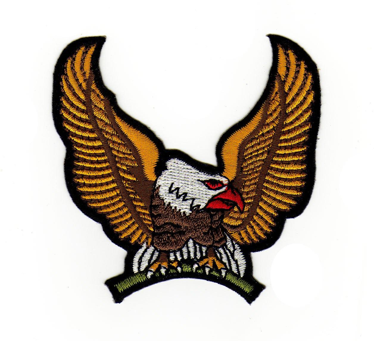 Parche plancha de planchar Iron on patches applikation Águila Eagle Bestellmich