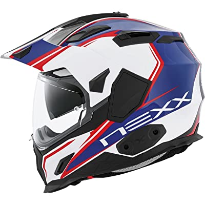 Nexx XD1 Voyager White Blue Helmet size Medium