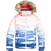 Roxy Jet Ski - Chaqueta Para Nieve Para Chicas 8-16 Chaqueta Para Nieve Niñas