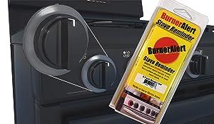 BurnerAlert Stove Reminder Disc (4 Pack, Color Smoke)