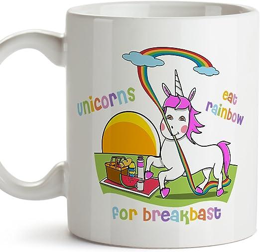 regalo para ella Unicornio amante Cumpleaños Gracioso UNICORNIO taza de café Taza él Lindo