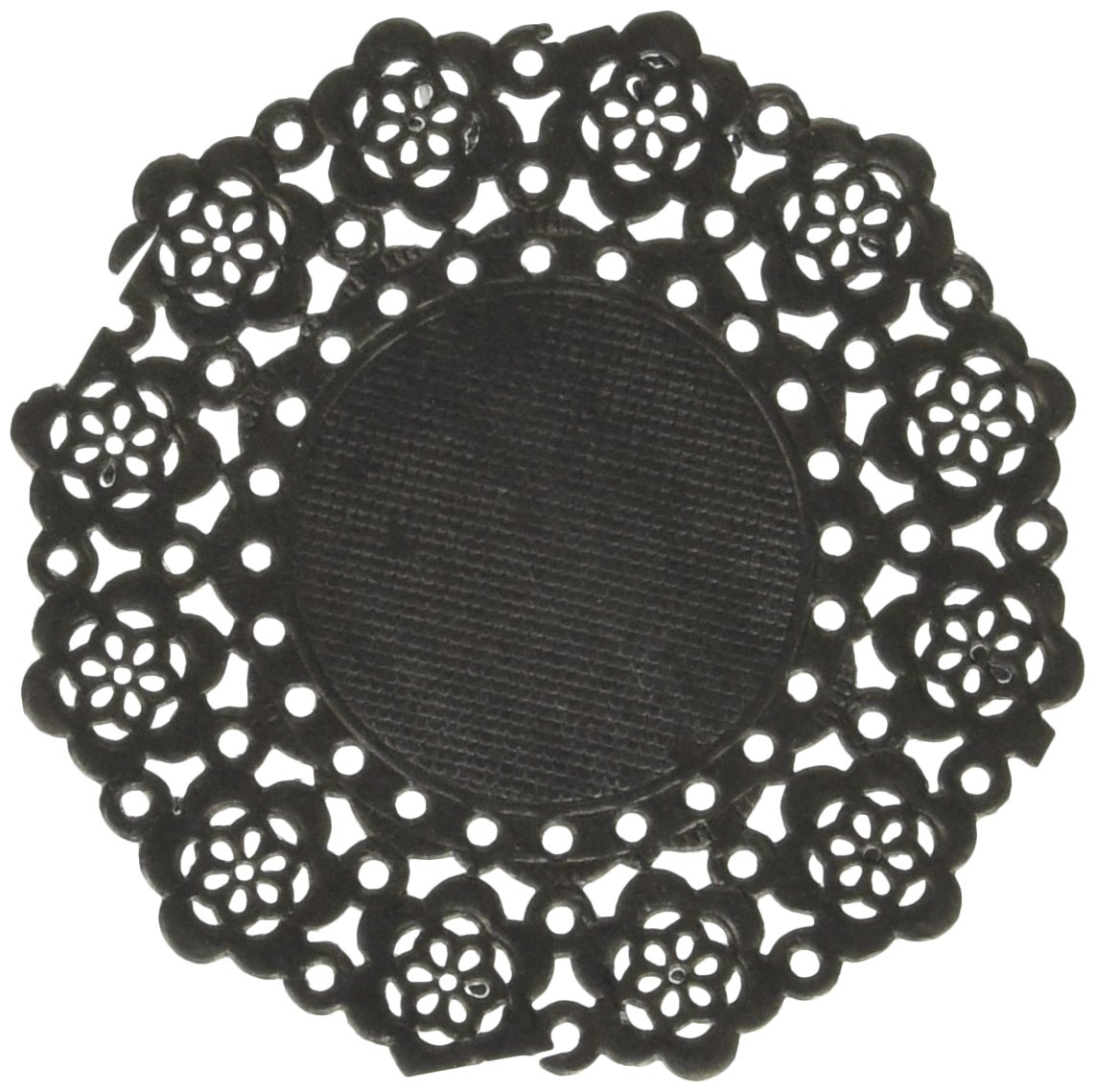 Doodlebug Mini Doilies (75 Pack), Beetle Black